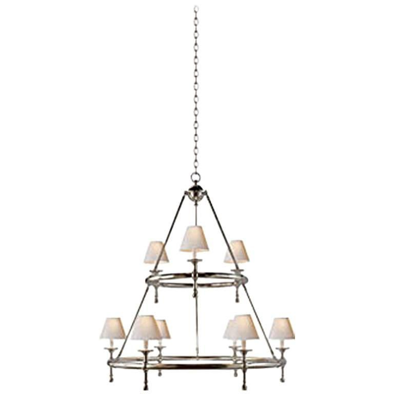 Two-Tier Ring Chandelier