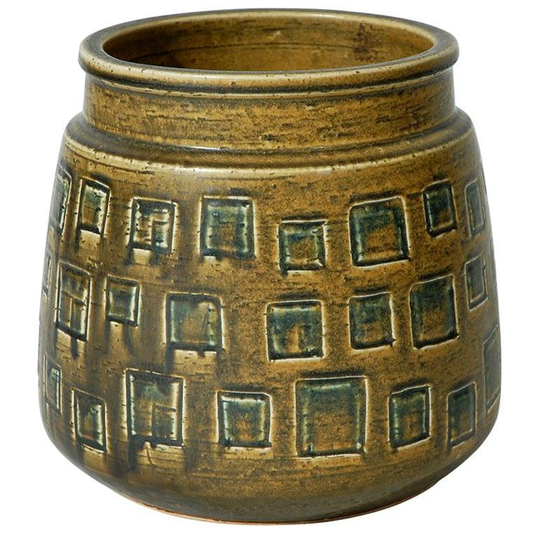 Large Saxbo Vase by Eva Staehr Nielsen