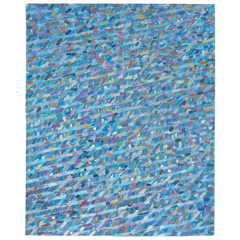 Large Contemporary Abstract Oil on Canvas