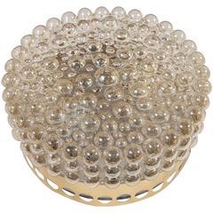 Vintage Bubble Glass Flush Mount or Sconce
