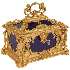 Louis XVI Style Ormolu-Mounted KPM Porcelain Casket