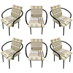Mandarin Chairs by Ettore Sottsass for Knoll 1987 Pan Am Building