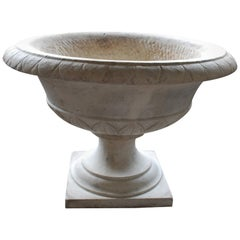 19th Century Massive Carrara Marble Coupe