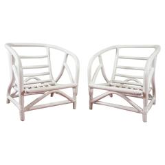 Pair of Bentwood Porch Lounge Chairs