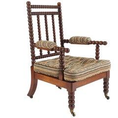 Bobbin Chair, England, circa 1840