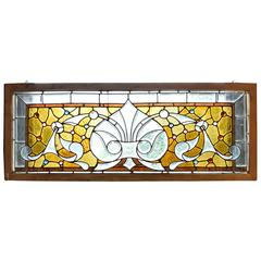 American Stained and Beveled Glass Window