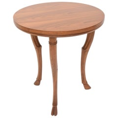 T.H. Robsjohn-Gibbings Circular Trapeza Table