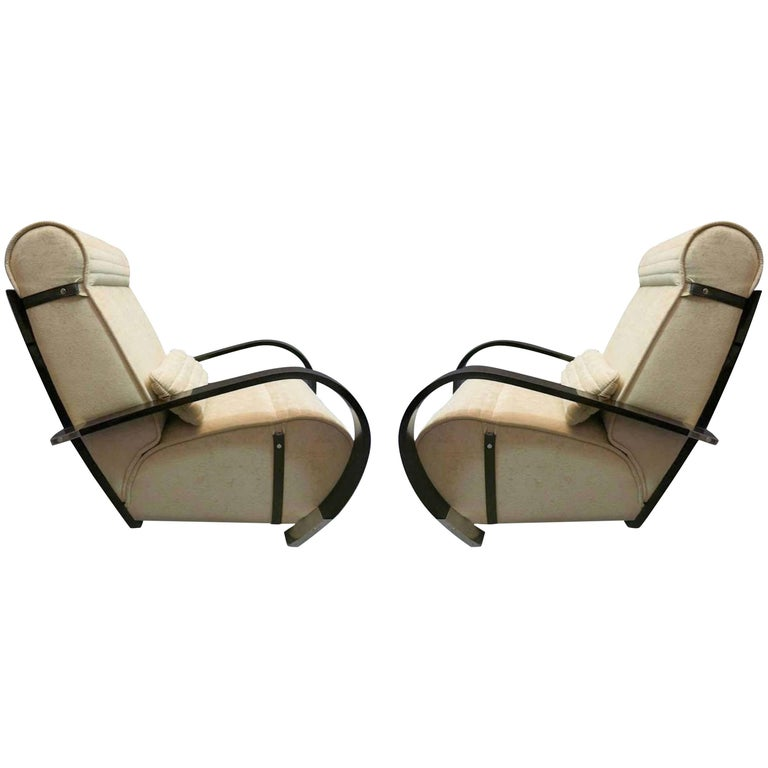 Pair of Italian Midcentury Club Chairs