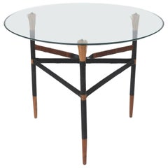Iron and Cane Table