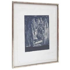 Jasper Johns Savarin Blue 6