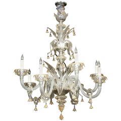 Venetian Eight-Light Chandelier