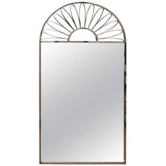 Stunning Italian Nickel Silvered Mirror