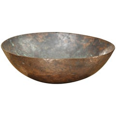Mid-Century Handmade Copper Bowl