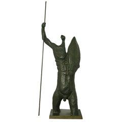 Heavy Cast Bronze Sculpture by Xico Stockinger