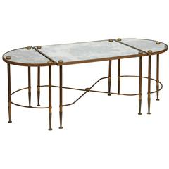Bronze Three Piece Oval Table