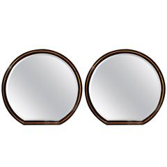 Pair of Art Deco Mirrors