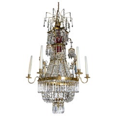Neoclassical Russian Style Chandelier