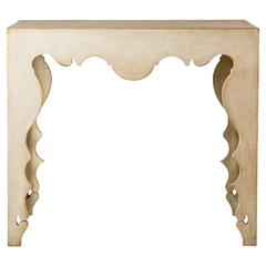 Tara Shaw Maison Swedish Rococo Style Console Table