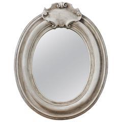 Italian Oval Fresco Mirror