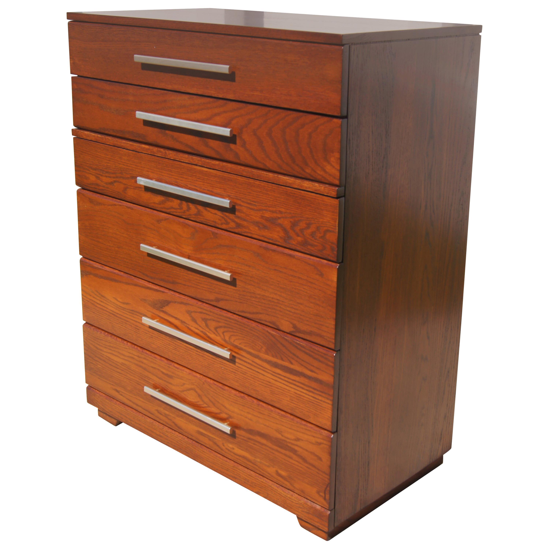 High Oak Dresser by Raymond Loewy for Mengel