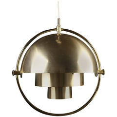 Original Multi-Light Pendant by Louis Weisdorf for Lyfa/ 4 available