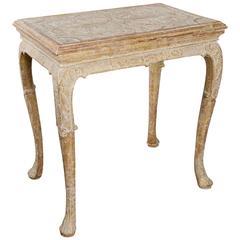Fine George I Gilt Gesso Centre Table