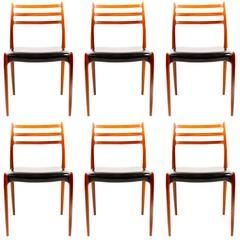 Elegant Dining Chair by N.O Moeller