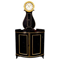 Dutch Corner Clock Cabinet