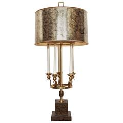 Impressive and Imposing Candelabrum Table Lamp by Marbro