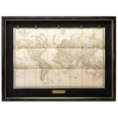 "1837 ""Mercator Projection"" Map of the World by James Wyld"