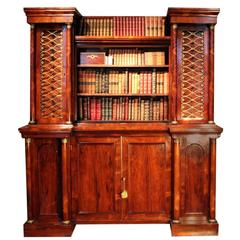 English Regency Collectors Cabinet by George Bullock