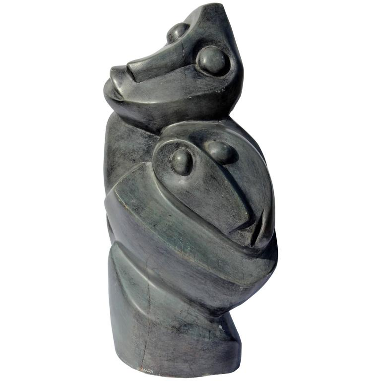 African Abstract  Sculpture