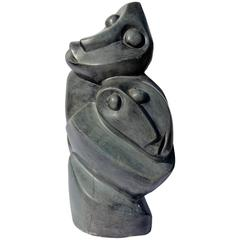 Contemporary African Stone Sculpture by Sikhulile Precious Sibanda