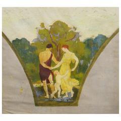 Arthur Bowen Davies, Mural Study