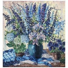 Oil Painting, Floral Bouquet