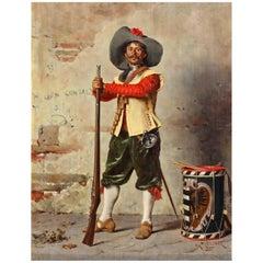 "Oil Painting "" Cavalier"""