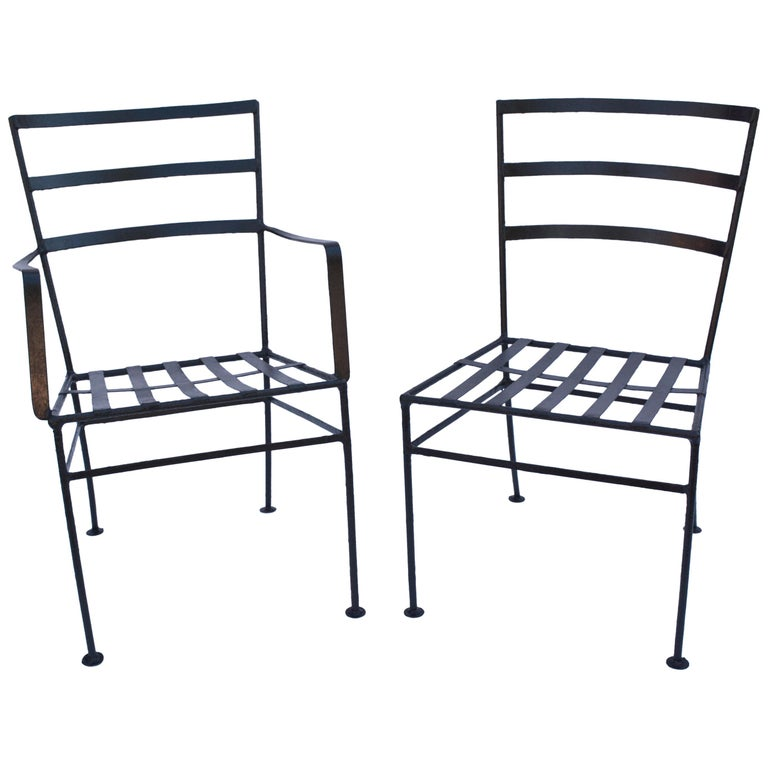 Pair of Vintage Terrace or Patio Lounge Chairs For Sale