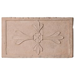 Antique  Architectural  Mogul Stone Panel