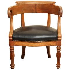 Fruitwood Armchair, circa 20th Century