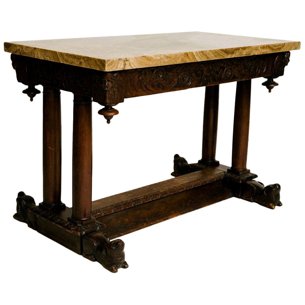 17th Century Italian Center Table