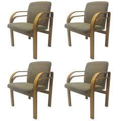Thonet Chair In The Manner Of Alvar Aalto At 1stdibs