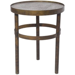 Philip and Kelvin LaVerne Floral Side Table