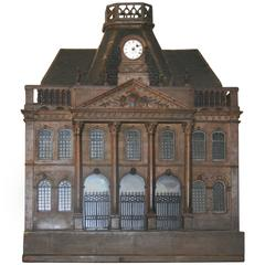 Empire Style Birdcage Model of Chateau de Luneville, Early 20th Century