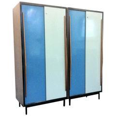 Cabinets by Willy Van Der Meeren, Belgium, 1950s