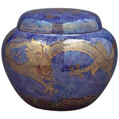 "Wedgwood Dragon Lustre ""Malfry Pot"" and Cover, circa 1920"