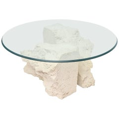 Plaster Coffee Table
