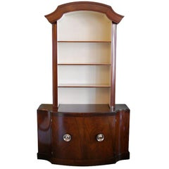 Handsome Paul Frankl Polished Mahogany Bookcase