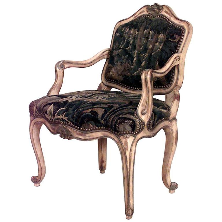 19th Century French Louis XV Style Childu0027s Armchair For Sale