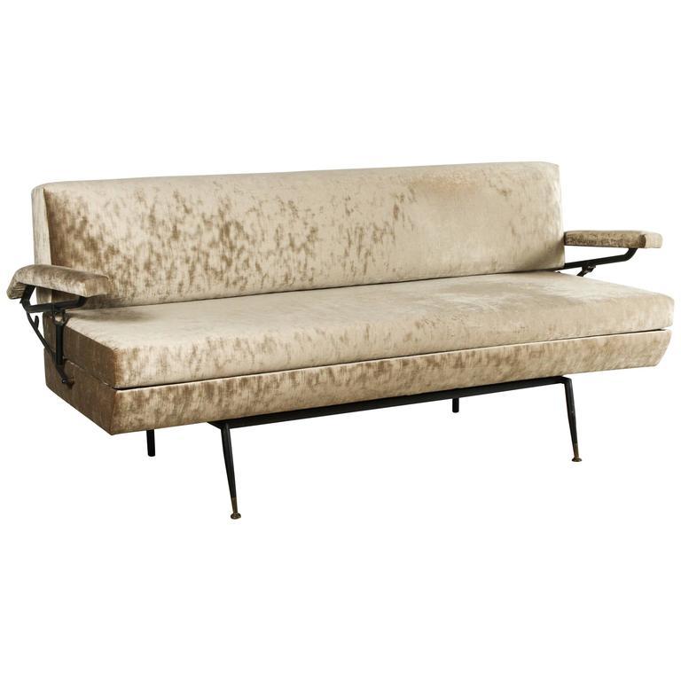 Italian Sofa And Daybed In Style Of Osvaldo Borsani For