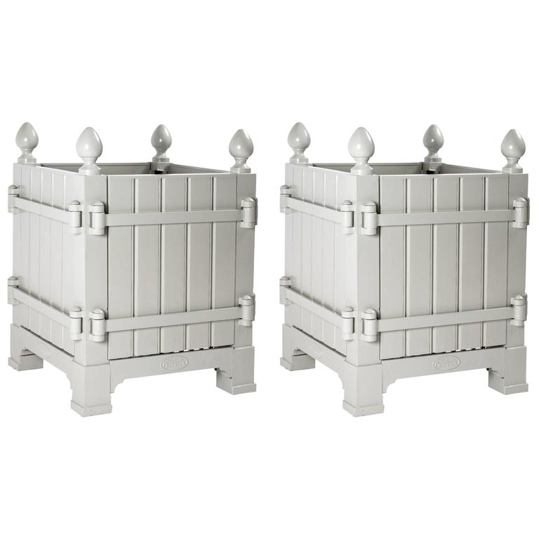 Pair Of 17th Century Style French Versailles Planter Bo For
